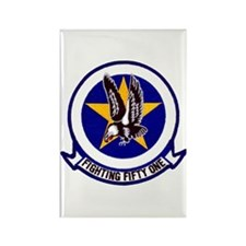 VF 51 Screaming Eagles Rectangle Magnet