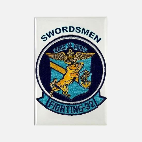 VF 32 / VFA 32 Swordsmen Rectangle Magnet