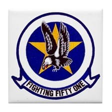 VF 51 Screaming Eagles Tile Coaster