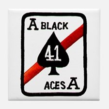 VF 41 / VFA 41 Black Aces Tile Coaster