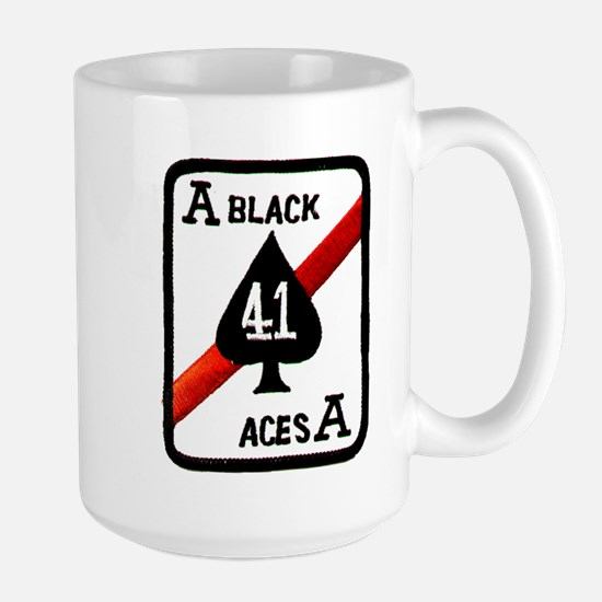 VF 41 Black Aces Large Mug