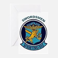VF 32 / VFA 32 Swordsmen Greeting Cards (Pk of 10)