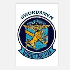 VF 32 / VFA 32 Swordsmen Postcards (Package of 8)