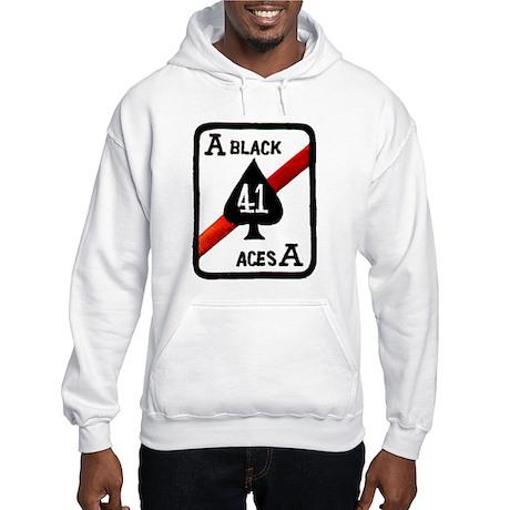 VF 41 / VFA 41 Black Aces Hooded Sweatshirt
