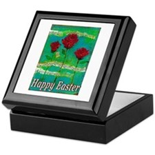 Easter Rose Keepsake Box