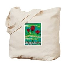 Easter Rose Tote Bag