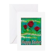 Easter Rose Greeting Card