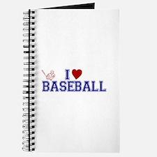 I Love Baseball Journal