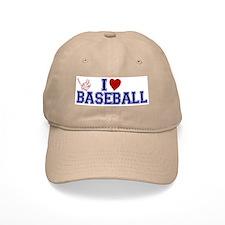I Love Baseball Baseball Cap