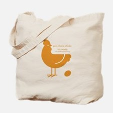 Hen and Rooster Tote Bag