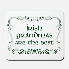 irish grandma Mousepad