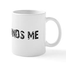 Trouble Finds Me Design Mug