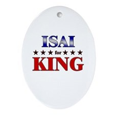 ISAI for king Oval Ornament