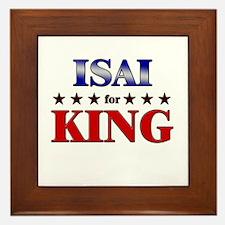 ISAI for king Framed Tile