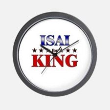 ISAI for king Wall Clock
