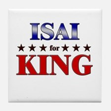ISAI for king Tile Coaster