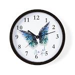 Angel & Wings Wall Clock