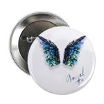 Angel & Wings Button