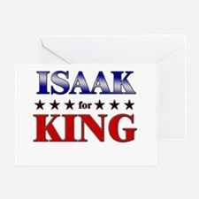 ISAAK for king Greeting Card
