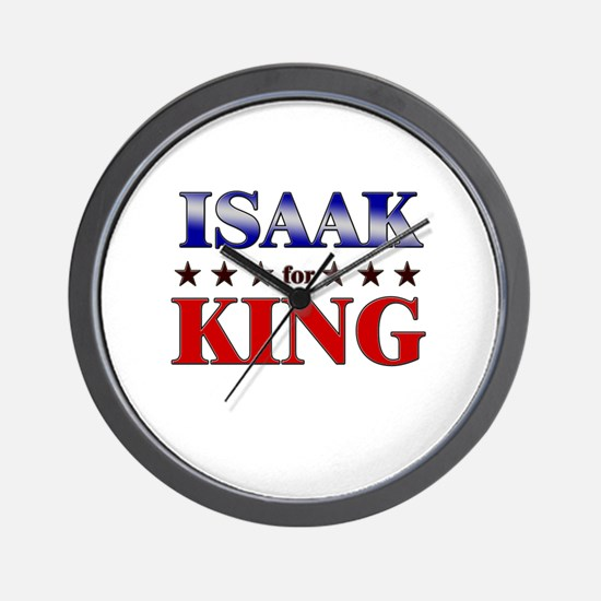 ISAAK for king Wall Clock