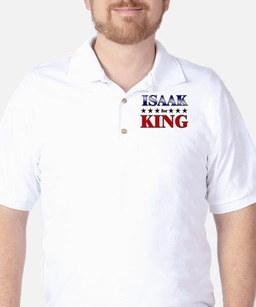ISAAK for king Golf Shirt