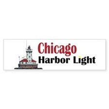The Chicago Harbor Lighthouse Bumper Bumper Sticker