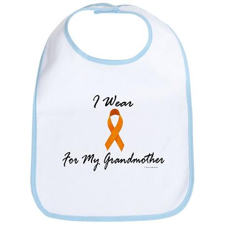 I Wear Orange For My Grandmother 1 Bib