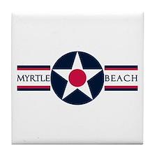 Myrtle Beach Air Force Base Tile Coaster