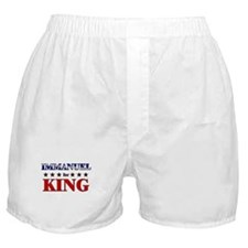 IMMANUEL for king Boxer Shorts