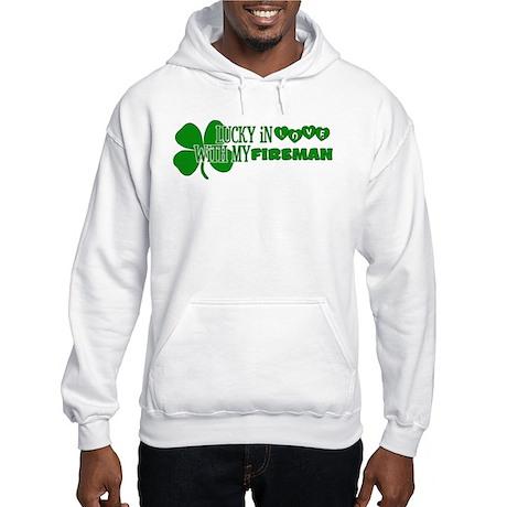 Lucky In Love Hooded Sweatshirt