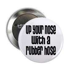 """Up Your Nose 70s 2.25"""" Button (10 pack)"""