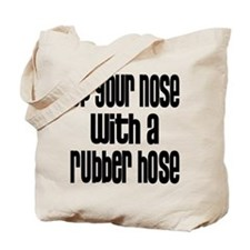 Up Your Nose 70s Tote Bag