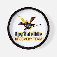 Spy Satellite - Wall Clock