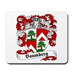 Baumberg Family Crest Mousepad