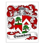 Baumberg Family Crest Small Poster