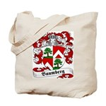 Baumberg Family Crest Tote Bag