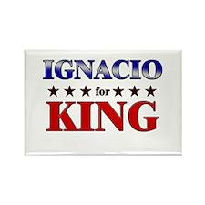 IGNACIO for king Rectangle Magnet