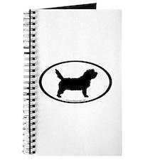 PBGV Dog Oval Journal