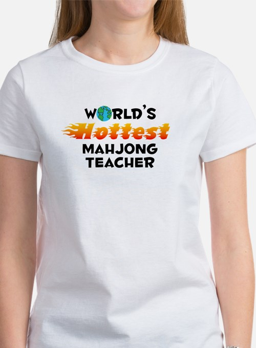 World's Hottest Mahjo.. (C) Women's T-Shirt