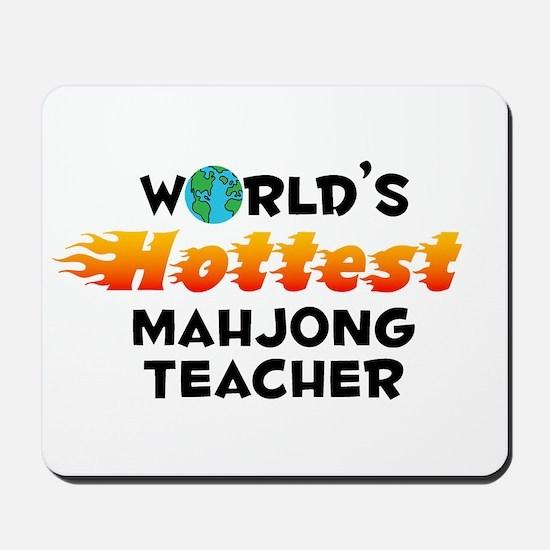 World's Hottest Mahjo.. (C) Mousepad