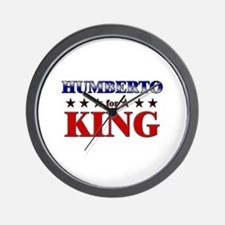 HUMBERTO for king Wall Clock