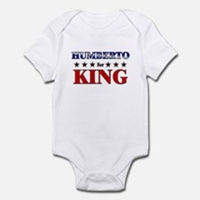 HUMBERTO for king Infant Bodysuit