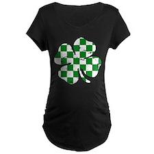 Checkered Clover T-Shirt