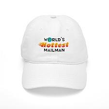 World's Hottest Mailman (C) Baseball Cap