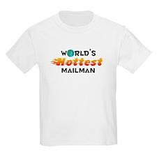 World's Hottest Mailman (C) T-Shirt
