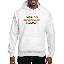 World's Hottest Mailman (C) Hoodie