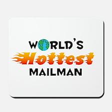 World's Hottest Mailman (C) Mousepad