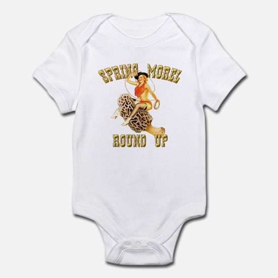 spring morel round up Infant Bodysuit