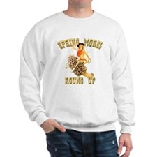spring morel round up Sweatshirt
