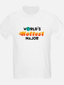 World's Hottest Major (C) T-Shirt